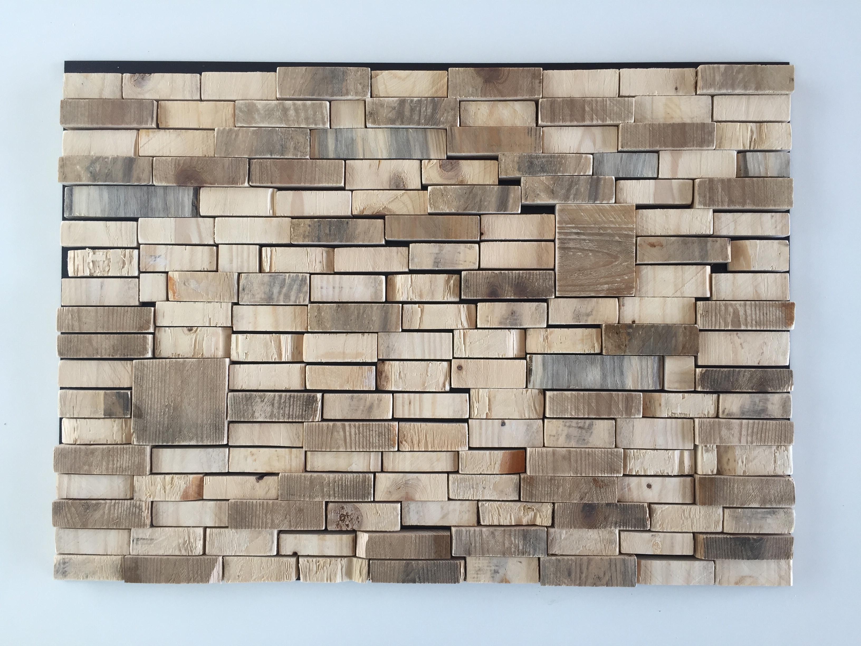 Block at block - 56 x 68 cm. TE KOOP - € 460,-