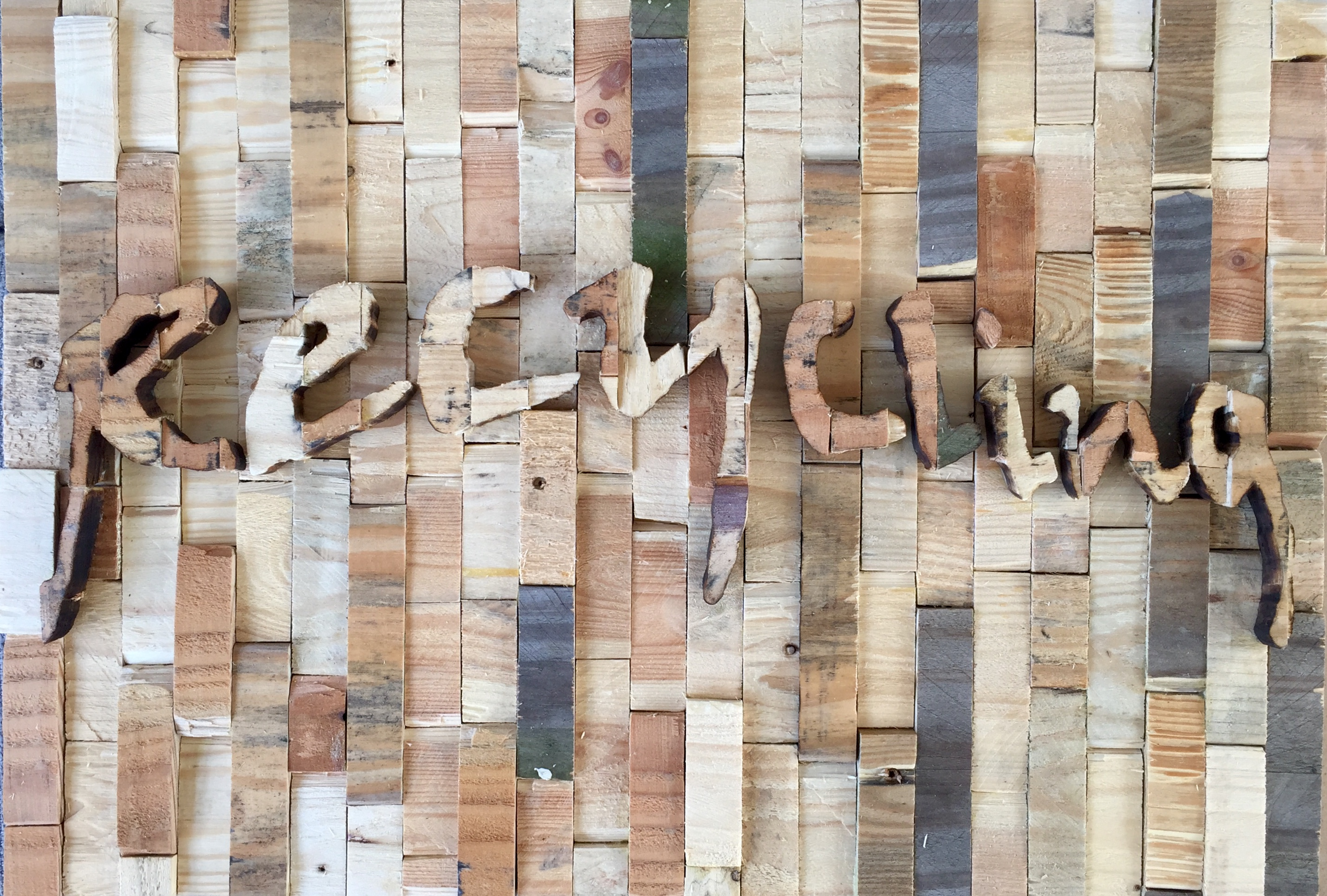 Recycling - 59 x 42 cm. VERKOCHT