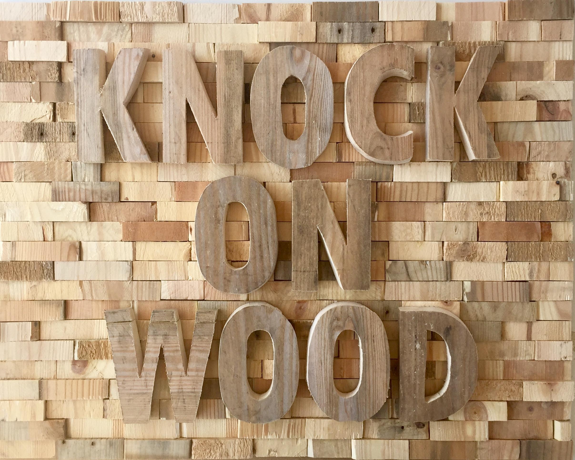Knock knock - 120 x 84 cm. VERKOCHT