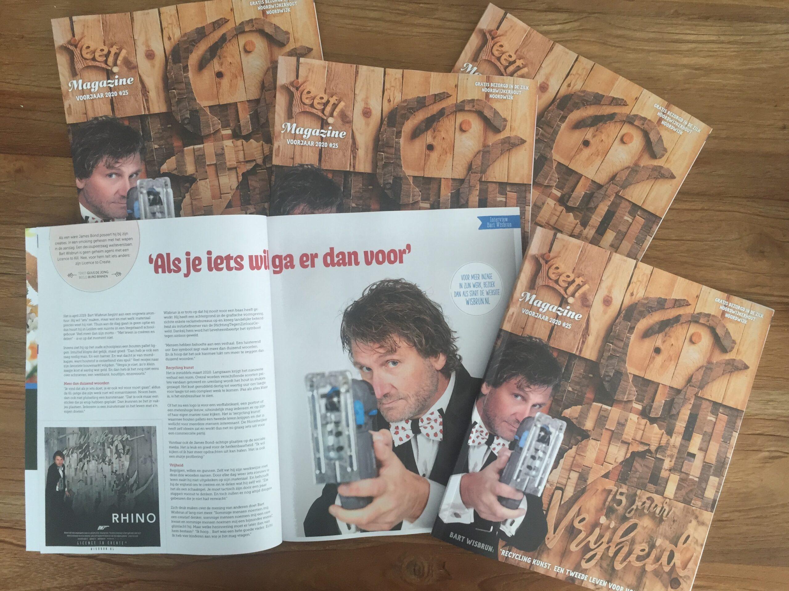 Cover Leef! Magazine en interview