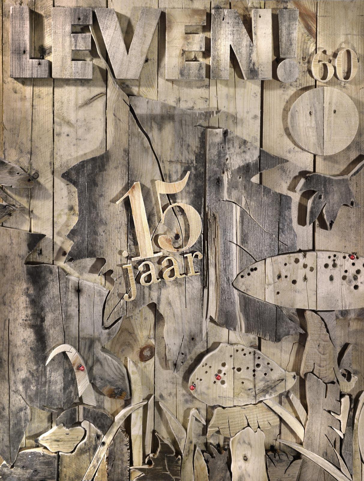 Cover LEVEN! Magazine - 69 x 89 cm. VERKOCHT