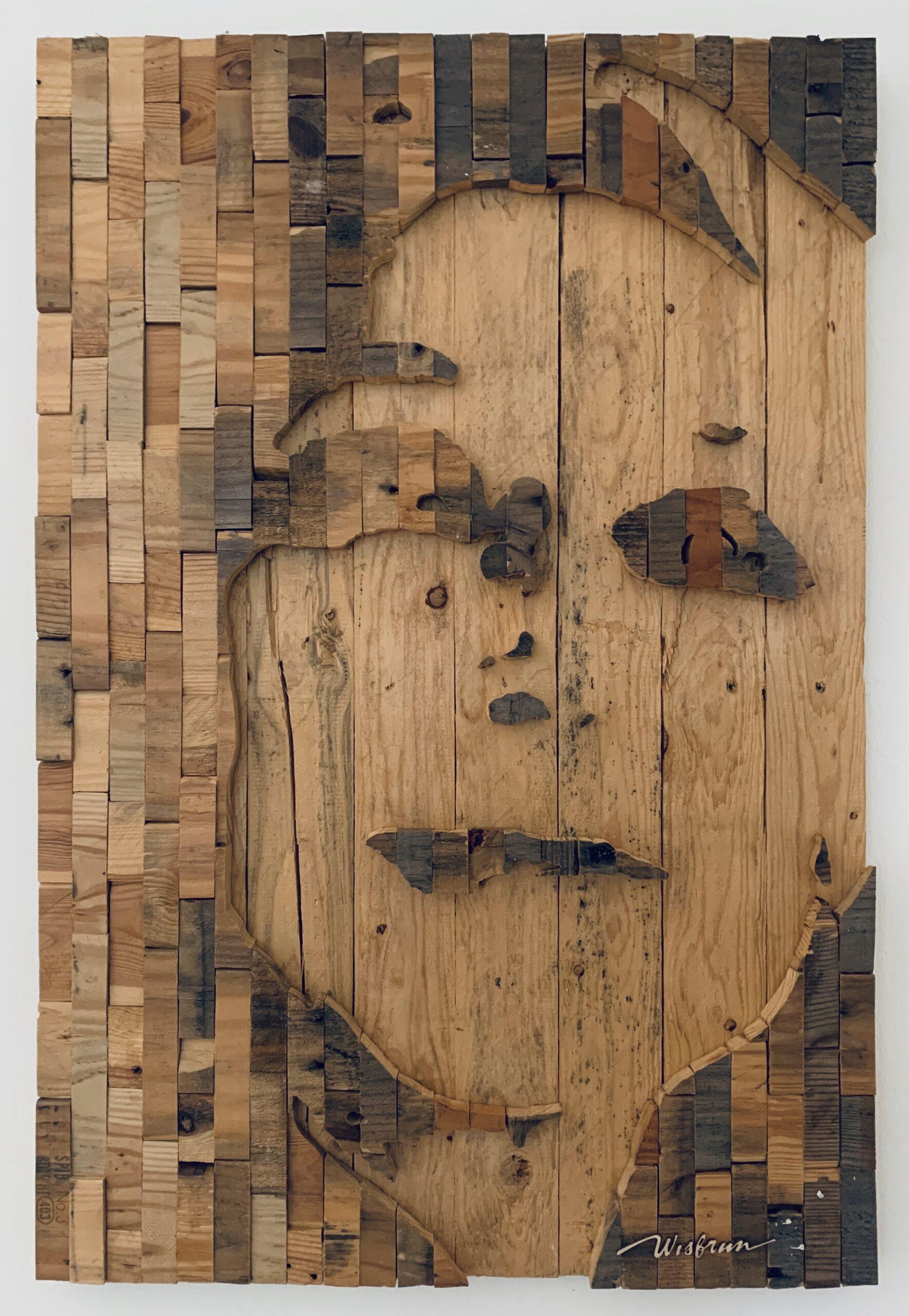 Marie Stella - 60 x 90 cm. VERKOCHT